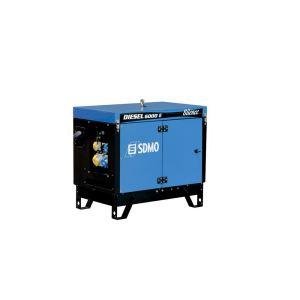 SDMO Diesel 6000 E Silence - Groupe électrogène monophasé 5.2kW