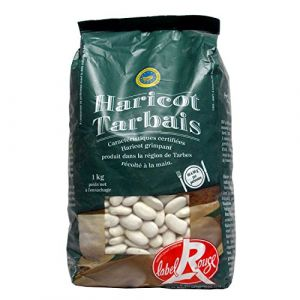 Sabarot Haricots Tarbais en sachet 1kg