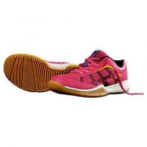 Salming Viper Kid Indoor Shoes - Pink Glo - 32 2/3