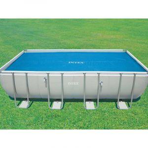 Intex Bâche à bulles 3.78 x 1.86 m pour piscine 4 x 2 m