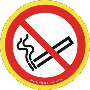 Novap Panneau de signalisation sens interdit Diamètre 30 cm