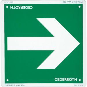Cederroth Panneau de signalisation ´Flèche de direction´