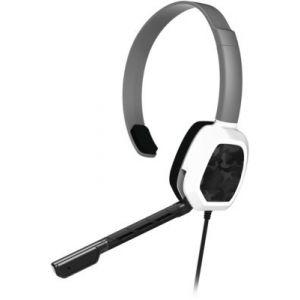 PDP Casque Afterglow Chat LVL1 Camo Blanc pour Xbox One