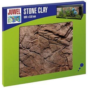 Juwel Fond Arrière pour Aquarium Stone Clay 600 x 550 mm