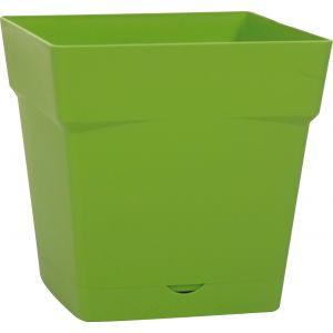 Eda Plastiques Pot toscane carre 10,2l vert matcha ref.13642 v.mc