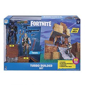 Coffret 2 Figurines & Kit de construction ultra-rapide - Fortnite - Corbeau et Jonesy