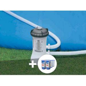 Intex Epurateur à cartouche 2 m³/h + 6 cartouches A