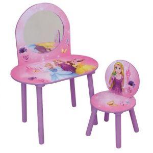 Fun House Disney princesses coiffeuse avec chaise pour enfant