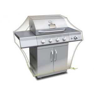 Housse rectangulaire LUXE pour barbecue 150 x 80 x 90 cm