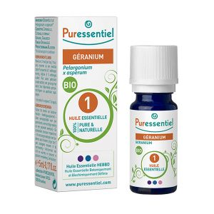 Puressentiel Huile essentielle - Géranium bio, 5 ml