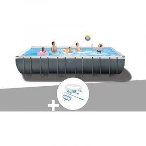 Intex Kit piscine tubulaire Ultra XTR Frame rectangulaire 7,32 x 3,66 x 1,32 m + Kit d'entretien