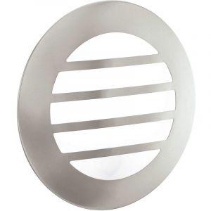 Eglo Applique murale à LED, acier inoxydable, diamètre 28 cm CITY 2