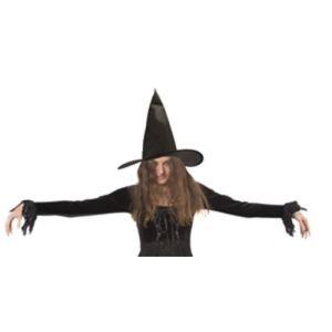 Chapeau de sorcière simple Halloween