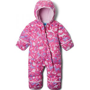 Columbia Combinaisons Snuggly Bunny Bunting - Pink Ice Reindeer / Pink Clover - Taille 6-12 Mois