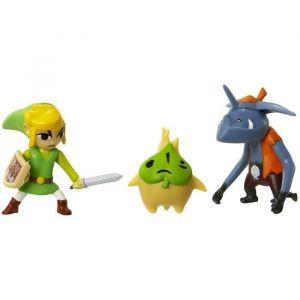 Jakks Pacific Pack de 3 micro figurines Série 4 - Nintendo 2 cm