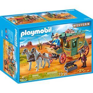 Image de Playmobil 70013 - Diligence du Far-West