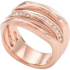 Fossil JF01321791 - Bague large en or rose pour femme