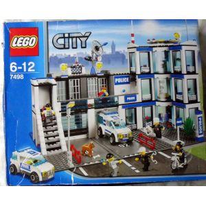 Police 7498 Lego Commissariat Avec CityLe De Comparer rdxeCBo
