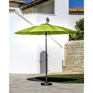 Proloisirs Pagode - Parasol Alu Fibre Us 300/18 inclinable