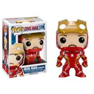 Funko Figurine Pop! Iron Man Unmasked