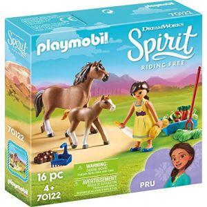 Playmobil Apo avec cheval et poulain Spirit 70122
