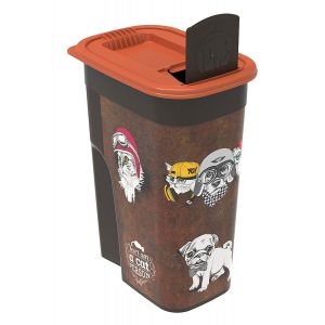 Rotho Mypet Pet Food Container VINTAGE chat/chien 4,1 L
