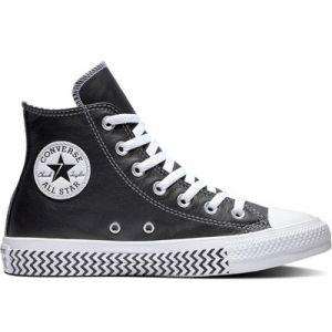 Converse Chuck Taylor All Star Mission-V Hi - Baskets Femme, Noir