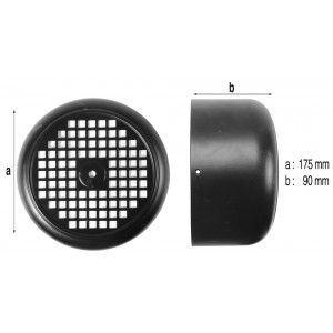 Procopi 593906 - Capot de ventilateur de pompe Tifon 1 300M