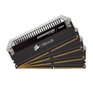 Corsair CMD64GX4M4C3000C15 - Barrette mémoire Dominator Platinum 64 Go (4x 16 Go) DDR4 3000 MHz CL15