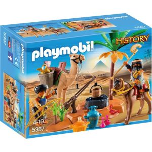 Image de Playmobil 5387 - History : Pilleurs égyptiens avec trésor