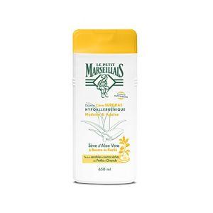 Le Petit Marseillais Hydrate & Apaise - Douche crème Surgras Hypoallergénique Sève d'Aloe Vera & Beurre de Karité