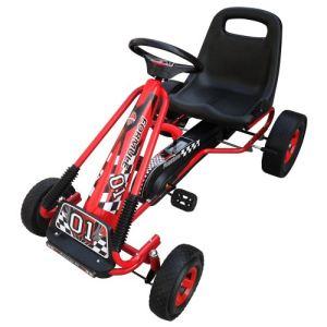 VidaXL Kart à pédales siège ajustable