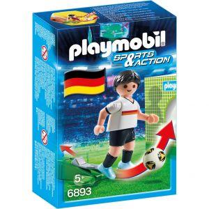 Playmobil 6893 Sports et Actions - Joueur de foot Allemand