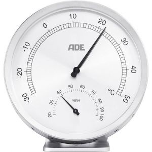 Ade WS 1813 Thermo-hygromètre argent