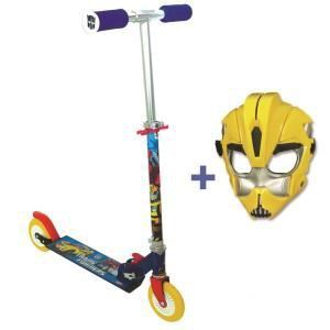 Patinette 2 roues Avengers + Masque
