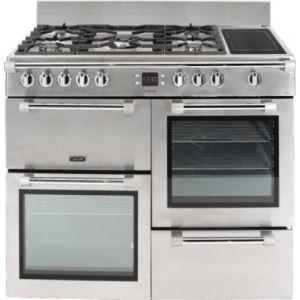 Leisure CK100F324 - Piano de cuisson Cookmaster 5 feux gaz dont 1 wok