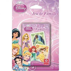 Cartamundi Jeu de 7 Familles Disney Princesses