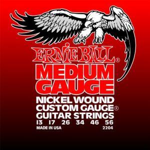 Ernie Ball Medium Electric Nickel Wound .013 - .056 w/ wound G