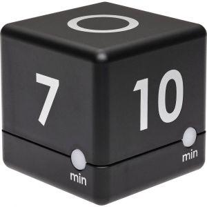 TFA Dostmann Timer Cube Minuteur noir numérique