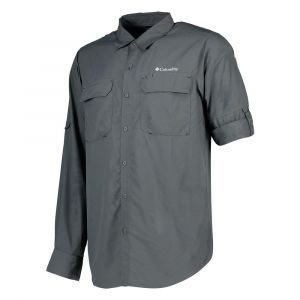 Columbia Chemises Silver Ridge Ii L/s - Grill - Taille XS