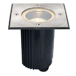SLV 229334 - Lampe encastrée Dasar 115 MR16 orientable carrée