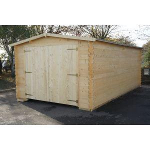 carport bois 20m2 comparer 31 offres. Black Bedroom Furniture Sets. Home Design Ideas