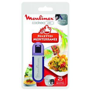 Moulinex XA600011 - Clé USB Cookeo 25 recettes Méditerranée