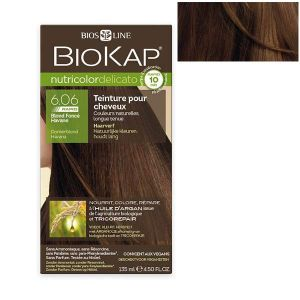 Biokap Coloration Nutricolor Rapid 6.06 Blond foncé havane 135ml