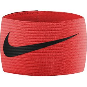 Nike FUTBOL Bracelet 2.0 Brassard de capitaine taille unique Total Crimson/Black