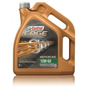 Castrol Huile moteur Edge Supercar 10W60 Essence et Diesel 5 L