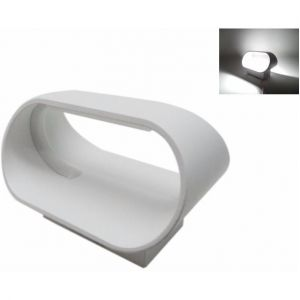 Silamp Applique Murale LED B43 5W IP44 BLANC