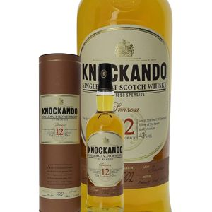 Knockando Whisky Ecosse Speyside Single Malt 12 ans 40 % vol.