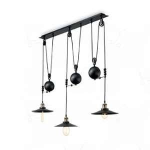 Ideal lux Suspension UP AND DOWN 3x60W - 136349