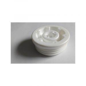 Multitanks Bouchon male blanc pour fût / bidon avec filetage S56x4 et bonde 3/4'' BSP
